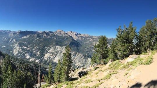 John Muir Trail Pano