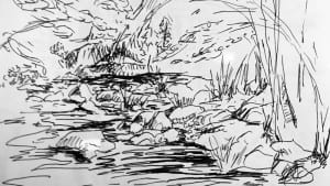 river-drawing