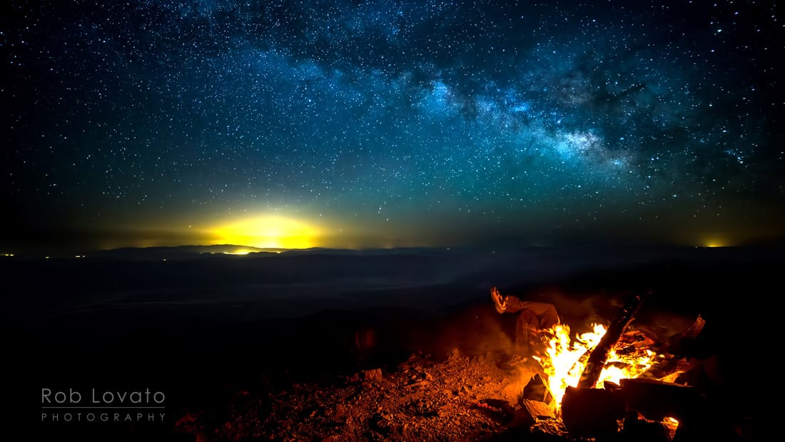 Telescope-Peak-Death-Valley-National-Park-Night-Sky-Fire-Rob-Lavato-barebackpacking