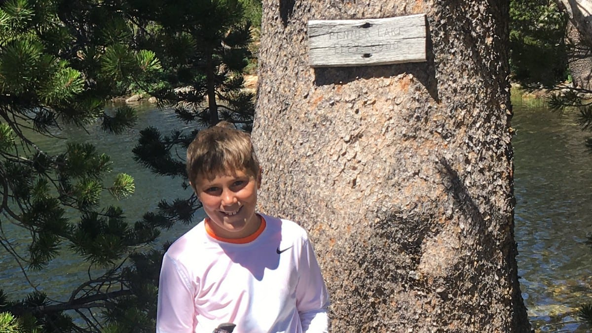 Backpacking-Tahoe-National-Forest-Lake-Penner-Sign-C