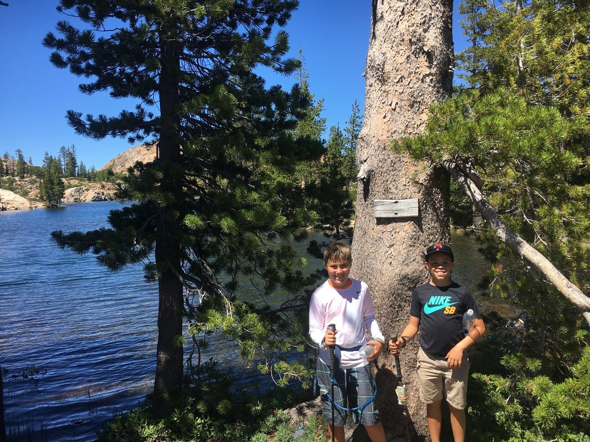 Backpacking-Tahoe-National-Forest-Lake-Penner-With-The-Family